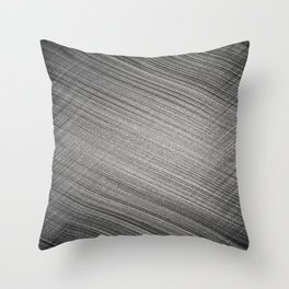 Charcoal Stitch Throw Pillow