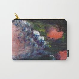 Poppy - Mixed Media Acrylic Abstract Modern Art, 2009 Carry-All Pouch