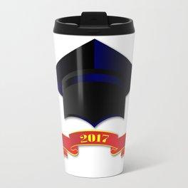 Cap Class Of 2017 Travel Mug