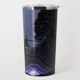 Purple lights Travel Mug
