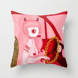 Corneashia Throw Pillow