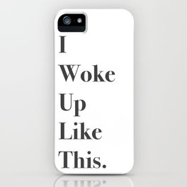 Flawless iPhone Case
