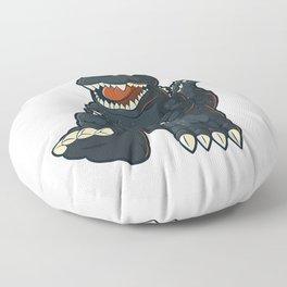 King of monsters Floor Pillow