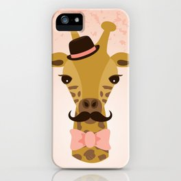 Happy Mother's Day ~ Giraffe iPhone Case