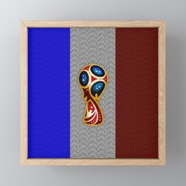 World Cup Champion Framed Mini Art Print