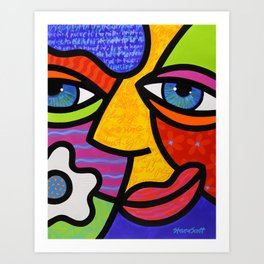 Sabrina Starr Art Print