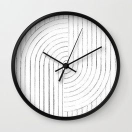 Abstract lines 2 Wall Clock