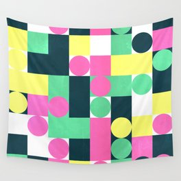 circle square Wall Tapestry