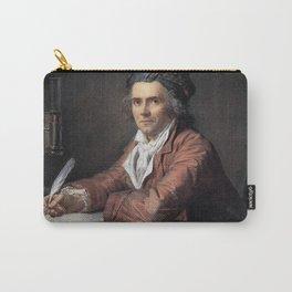 Jacques-Louis David - Portrait of Doctor Alphonse Leroy Carry-All Pouch