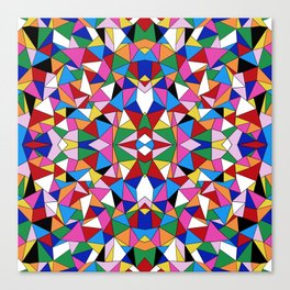 Kaleidoscope II Canvas Print