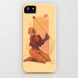 feign optimism iPhone Case