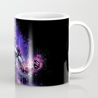 dbz Mugs featuring The Ultimate Evil Lord by Barrett Biggers