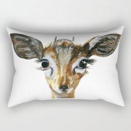Deer Woodland Animal Baby Rectangular Pillow