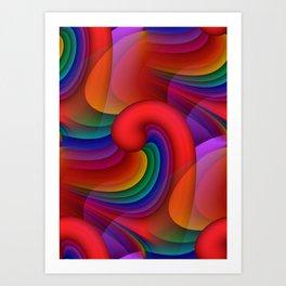 many colors -cc- Kunstdrucke