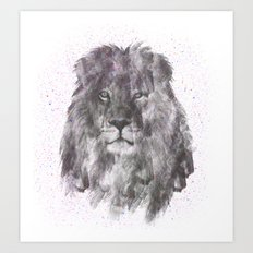 Lion Just Wants to have Fun Art Print