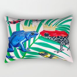 Frog Painting Rectangular Pillow