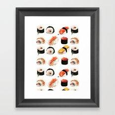 sushi 2 Framed Art Print