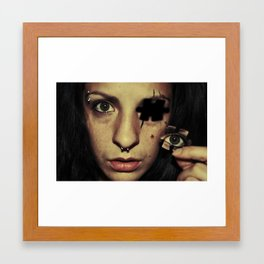 A piece of me Framed Art Print
