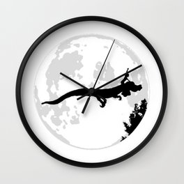 Falkor Moon Wall Clock