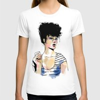 striped T-shirts featuring Striped shirt by rbengtsson