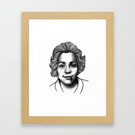 Coretta Scott King Framed Art Print