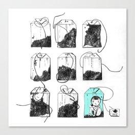 TeaBags Canvas Print