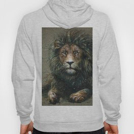 Lion background Hoody