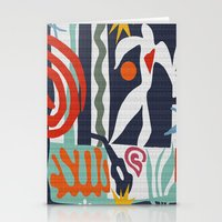 matisse Stationery Cards featuring Inspired to Matisse by Chicca Besso