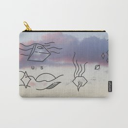 Smoking Mountain  Carry-All Pouch