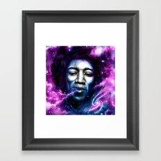 J I M I Framed Art Print