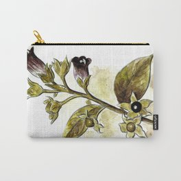 Atropa Belladonna Carry-All Pouch