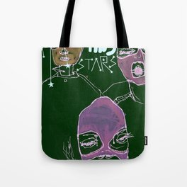 shooting stars an the rebels. Tote Bag