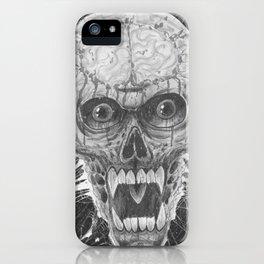 Vampire Skull Noir Art iPhone Case
