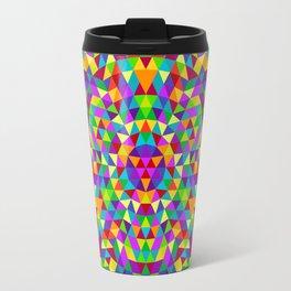 Happy triangle mandala 2 Travel Mug