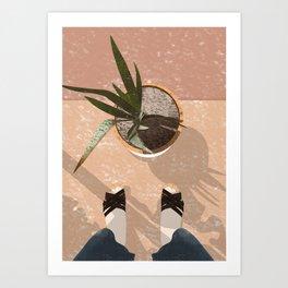 Summer Plants Art Print
