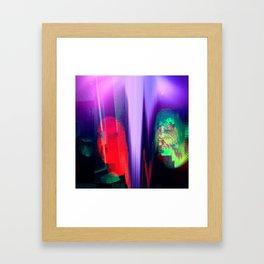 Mermaid Tag Framed Art Print