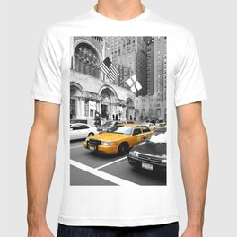NYC Yellow Cabs Avenue - USA T-shirt