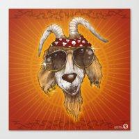 rockabilly Canvas Prints featuring Rockabilly by Chip David