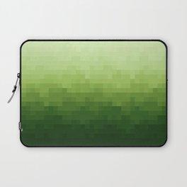 Gradient Pixel Green Laptop Sleeve