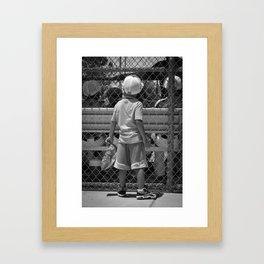 Little Brother 2 Framed Art Print