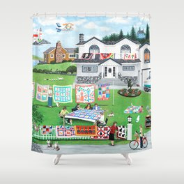 Cat Lovers Society Shower Curtain