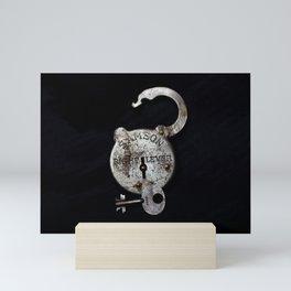 Samson Lock & Key Mini Art Print