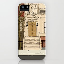 Brownstone iPhone Case