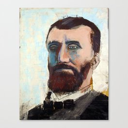 1881 Killed James A. Garfield (Charles Guiteau) Canvas Print