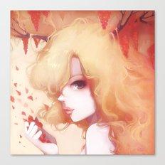 Automne rouge Canvas Print
