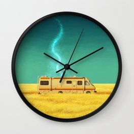 A Mobile Meth Lab Wall Clock