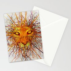 Lion Drip Stationery Cards