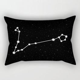 Pisces Star Sign Night Sky Rectangular Pillow