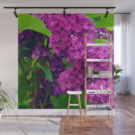 484 - Purple and Magenta Lilacs Wall Mural
