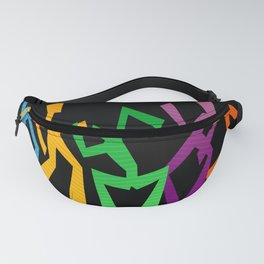 Abstract People Dancing Fanny Pack